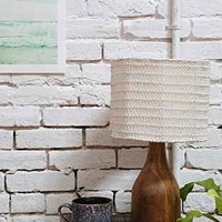 4040 Locust Wooden Base Table Lamp - Urban Outfitters