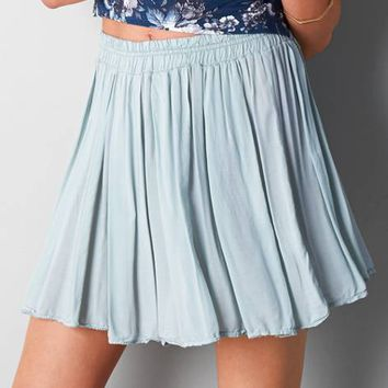 DON'T ASK WHY PLEATED CIRCLE SKIRT