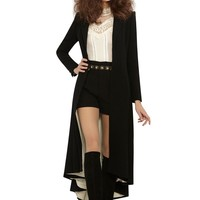 alice + olivia | BAIN PLEATED LONG COAT