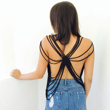 Spider Back Tee