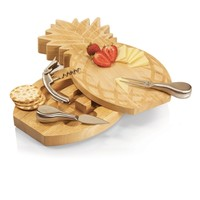 SheilaShrubs.com: Pineapple Cheese Board 912-00-505-000-0 by Picnic Time : Cheese & Cutting Boards