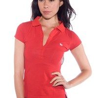 Back to School Polo Shirt - Red