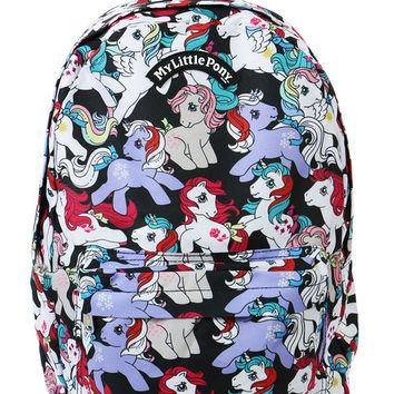 MY LITTLE PONY ALLOVER PRINT BACKPACK