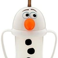 Disney Frozen Exclusive Olaf Cup with Straw
