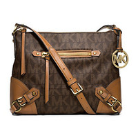 MICHAEL Michael Kors Signature Fallon Medium Messenger Bag | Dillard's Mobile
