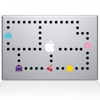 Pacman Color Macbook Decal