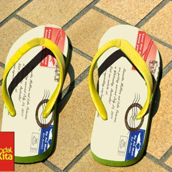 Flip Flops - Envelope art