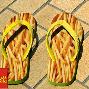 Flip Flops - french fries