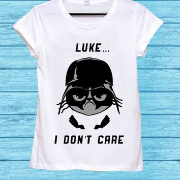 Darth Vader vs Grumpy Cat - Luke for t shirt mens and t shirt girls