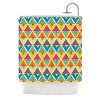 Kess InHouse Julia Grifol 'My Diamond' Shower Curtain, 69 by 70-Inch