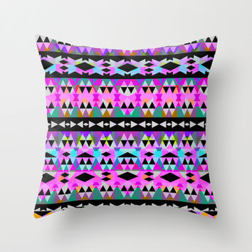 Mix #551 Throw Pillow by Ornaart