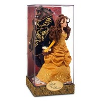 Disney Store Designer Collection Beauty and the Beast Limited Edition dolls