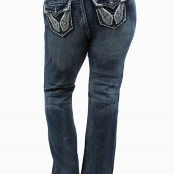 ZCO FLARE WING JEANS
