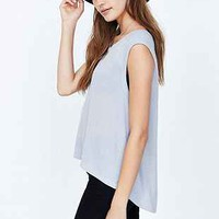 BDG Ribbed-Knit Muscle Tee - Urban Outfitters
