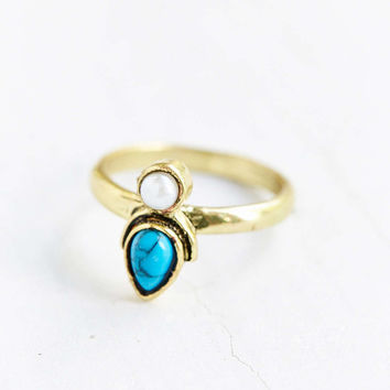 Fez Stone Ring - Urban Outfitters
