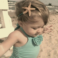 Sparkly Starfish Headband for Your Little Mermaid