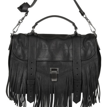 Proenza Schouler - PS1 fringed medium leather shoulder bag