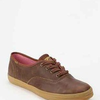 Keds Champion Caramel Leather Sneaker- Brown