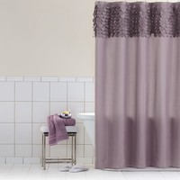Home Classics Violet Fabric Shower Curtain