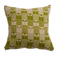 Heal's | Heal's 2010 Knitted Leaf Repeat Cushion by Donna Wilson > Cushions > Soft Furnishings > Accessories