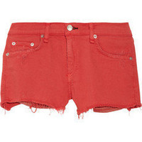 rag & bone JEAN | Mila cut-off twill shorts | NET-A-PORTER.COM