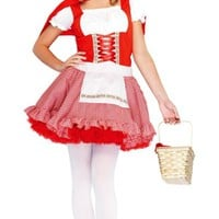 Teen Girls Classic Little Red Riding Hood Costume- Party City
