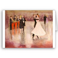 Night Dancing Greeting Cards from Zazzle.com