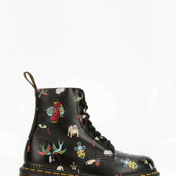 Dr. Martens Tattoo 8-Eye Boot - Urban Outfitters
