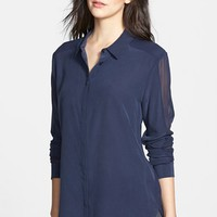 Paige Denim 'Tara' Silk Shirt