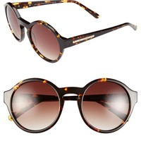 Elie Tahari 53mm Round Sunglasses