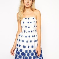 ASOS 3D Flower Organza Prom Dress