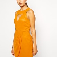 VLabel London Kensal High Neck Dress with Keyhole