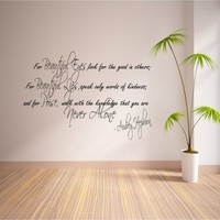 for beautiful eyes 2 - G Direct Wall Stickers