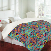 DENY Designs Home Accessories | Sharon Turner Ikat Doodle Duvet Cover