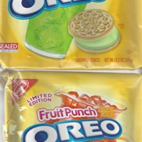 New Oreos Limeade and Fruit Punch - 1 Pack of Each - Limited Edition