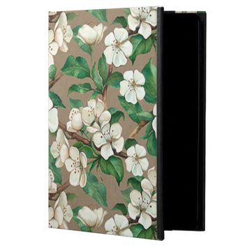 Spring Apple Blossom Flowers Pattern iPad Air Case