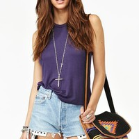 Deep Cut Tank - Plum