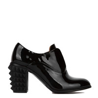 Kitkat Patent Bootie in Black
