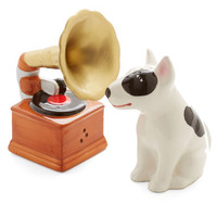 One Hundred 80 Degrees Critters Look at This Phonograph Shaker Set