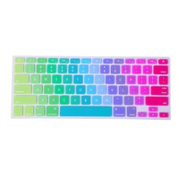 HDE Metallic Finish Silicone Rubber Keyboard Skin