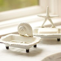 Sea-Life Soap Dishes | Pottery Barn