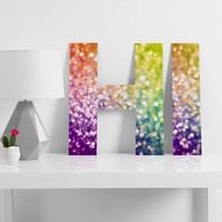 Lisa Argyropoulos Whirlwind Bokeh Decorative Letters