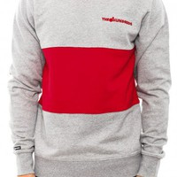 THE HUNDREDS Balm Crewneck Red | Culture Kings Online Store