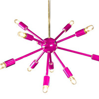 Pink Sputnik Chandelier Lighting