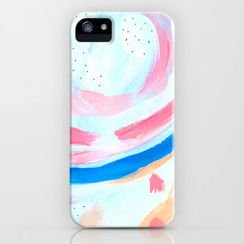 Star Gazing / Abstract Painting 4 iPhone & iPod Case by Wildhumm | Society6