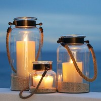 HYANNIS LANTERNS - BRONZE FINISH