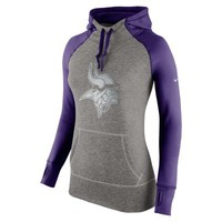 Nike Platinum All Time Pullover NFL Minnesota Vikings Women's Training Hoodie - Court Purple