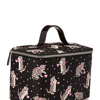 Cats & Dots Travel Makeup Case