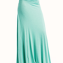 maxi-skirt BLACK GREY MAGENTA MINT TEAL - GoJane.com
