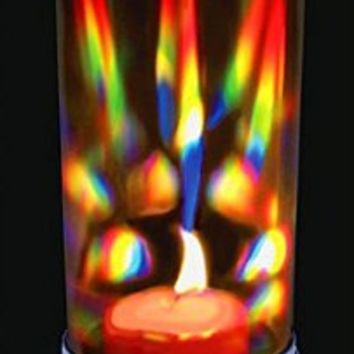 Rainbow Crystal Prism Candle Lantern - Candle Holder - Rainbow Maker - The Love Lantern:Amazon:Home & Kitchen